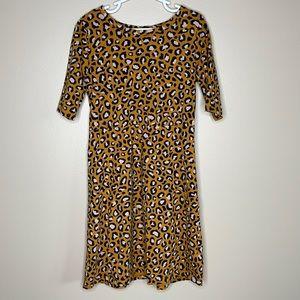 Old Navy Girl's Leopard Print Dress Size Medium 8